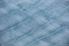 Patterns on ice Stock Photo