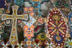 Patterns of jewelery stones and beads Royalty Free Stock Images