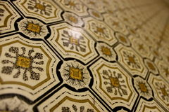 Patterns In Lino Royalty Free Stock Photo