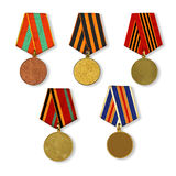 Patterns medals Royalty Free Stock Photos