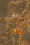 Patterns of metal rust Stock Photo