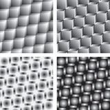 Patterns: metallic cubes Stock Photo