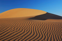 Patterns in the Namibian Desert Stock Photo