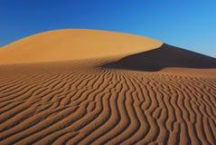 Patterns in the Namibian Desert Stock Photo