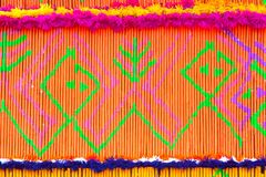 Patterns of ornamental incense in parade of incense Buddhist tradition merit action festival. Patterns of ornamental incense in parade of incense Buddhist Stock Photography
