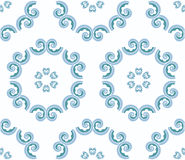 Patterns. Pale blue pattern patterns abstract Royalty Free Stock Image