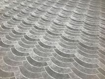 Patterns of paths or floors from the arrangement of bricks. Or floor tiles. For the beautiful and outstanding Royalty Free Stock Image