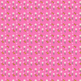 Patterns. Pink background flowers color patterns Royalty Free Stock Image