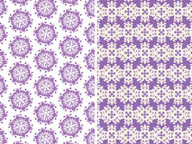 Patterns in purple colors Royalty Free Stock Photo