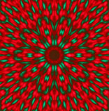 Patterns Red and green Stock Photo