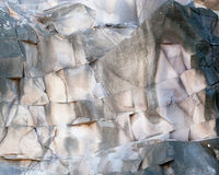 Patterns in rock formation Stock Images