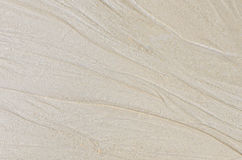 Patterns on the sand. stock photography