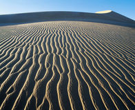 Patterns in sand Stock Photos