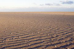 Patterns in the sand Royalty Free Stock Photos
