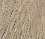 Patterns in the sand, drawings in the sand royalty free stock photography