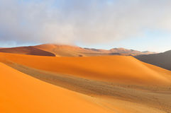 Patterns in the sand of the Namib Royalty Free Stock Photo