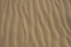Patterns of Sand Texture Stock Image