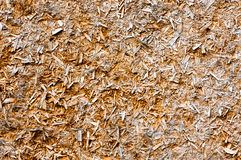 Patterns sawdust. Vintage wooden glued sawdust decayed by time Royalty Free Stock Images