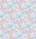 Batterfly gold patterns seamless. Patterns seamless with butterflies and blots design  s Stock Photos