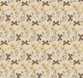 01.Butterfly pattern seamless. Patterns seamless with butterflies and blots design s vector illustration