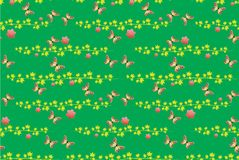04.Butterfly pattern seamless. Patterns seamless with butterflies and blots design s Royalty Free Illustration