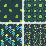 Patterns set Royalty Free Stock Photo