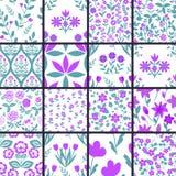 Patterns set Royalty Free Stock Photo
