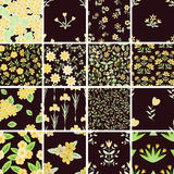 Patterns set Stock Photography