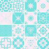 Patterns set Royalty Free Stock Photography