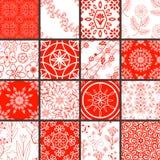 Patterns set Royalty Free Stock Image