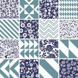 Patterns set Stock Photos