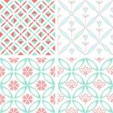 Patterns set Royalty Free Stock Photography