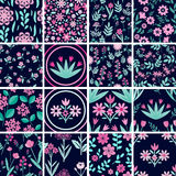 Patterns set Stock Images