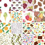 Patterns Set Stock Image