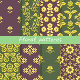 Patterns set Stock Image