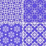 Patterns set Stock Photo
