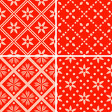 Patterns set Stock Photography