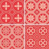 Patterns set Royalty Free Stock Photos