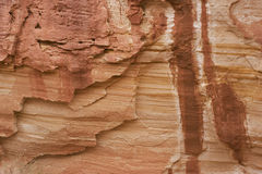 Patterns and stains on sandstone Royalty Free Stock Photos