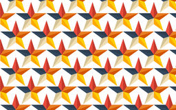 Patterns star collection seamless wallpapers.  Royalty Free Stock Images