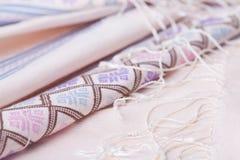 Patterns of thai silk Stock Photos