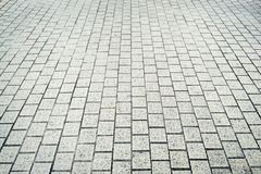 Patterns on a tile floor or walkway Royalty Free Stock Photos