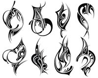 Tribal tattoo Royalty Free Stock Photo