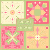 Patterns vector set of various backgrounds. Patterns vector set of various backgrounds Stock Image
