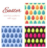 Patterns withe eggs Royalty Free Stock Photography