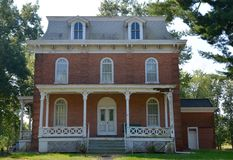 Patterson Hamer House Royalty Free Stock Image