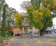 Patterson Memorial, Victory Park Castlemaine stock foto