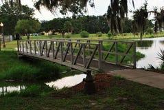 Patterson Park en el fuerte Meade Florida Imagen de archivo libre de regalías