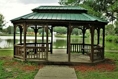 Patterson Park in Fort Meade Florida stock photography