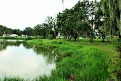 Patterson Park i fortet Meade Florida Royaltyfria Bilder